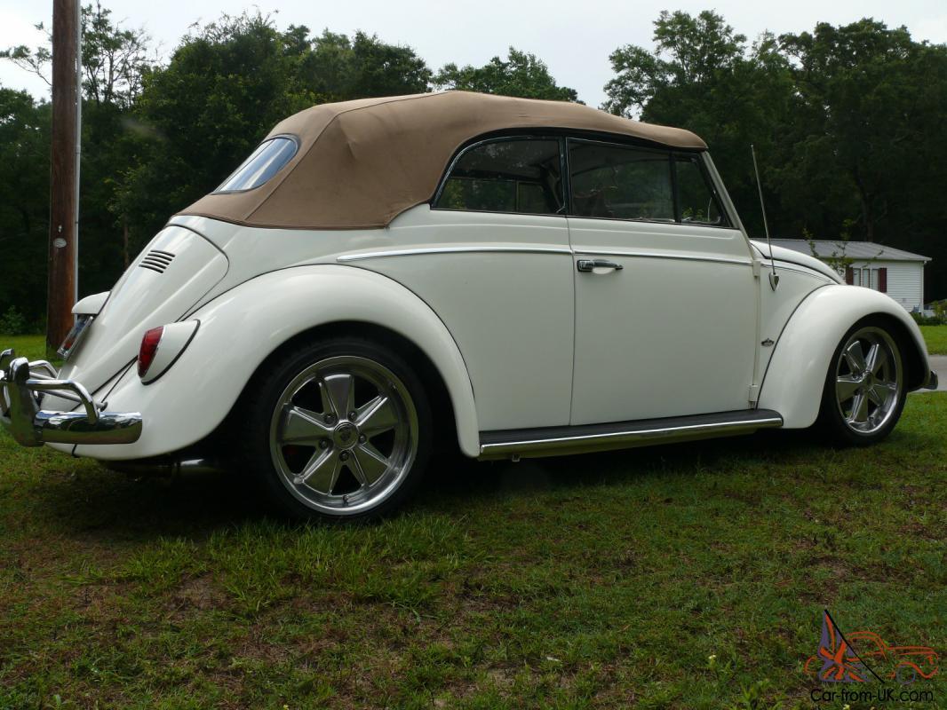 1963 Volkswagen Beetle Classic Cabriolet