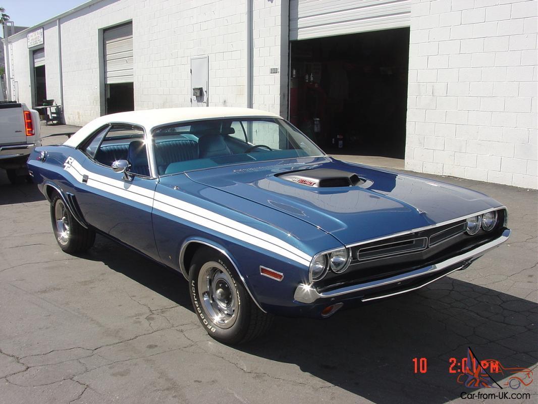 1971 Dodge Challenger R T 383 Shaker For Sale