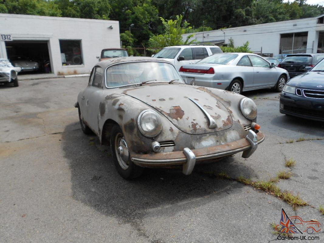 Porsche 356 For Sale >> 1963 Porsche 356 Super 90 All Numbers Match Per Coa Needs Restoration