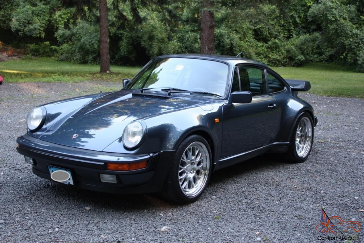 1982 Porsche 911 930 Turbo 400 Hp Pacific Blue Color