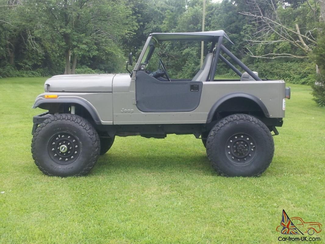1977 Big Block 440 Jeep Cj
