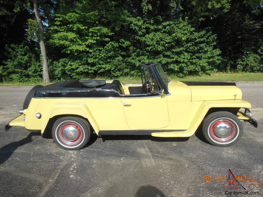 1950 Jeep Willys Jeepster 2 2l