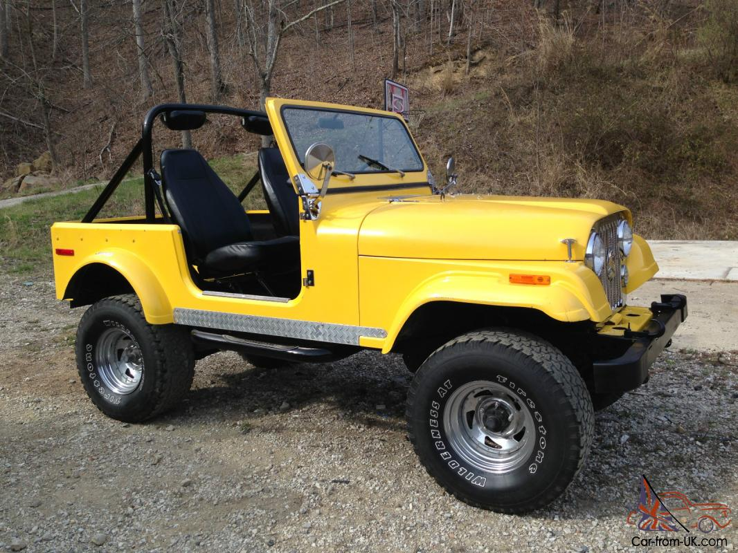 1978 Jeep CJ7 Base Sport Utility 2-Door 5.0L