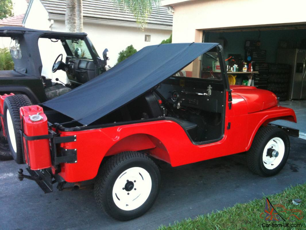 Classic Jeeps For Sale >> Cj5 Restored Classic Jeep Steel Body Completely Stock Unmoletsed