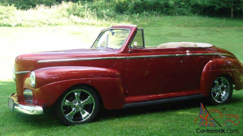 Cars For Sale Omaha Ne >> 41 Ford Super Deluxe Convertible Low Miles Classic Car 351 ...
