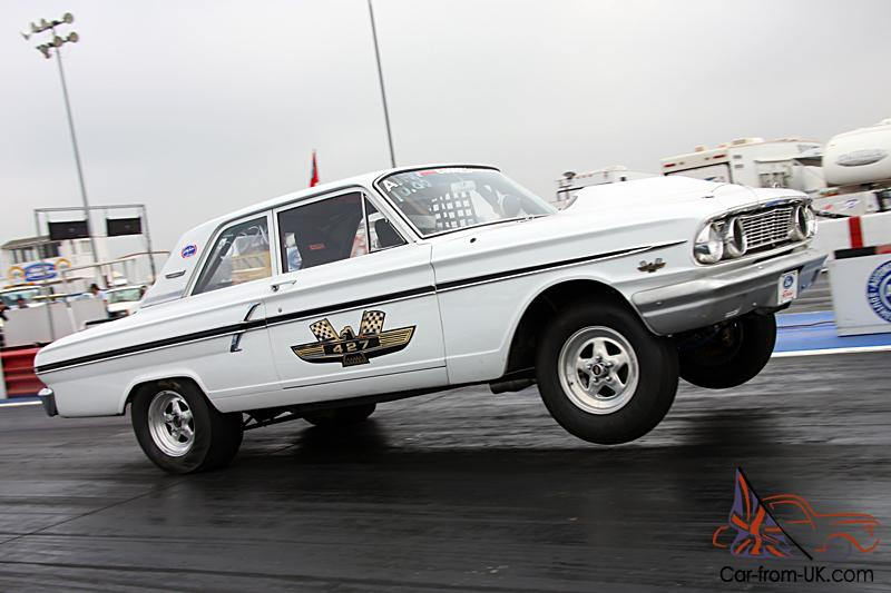 1964 Ford Fairlane Thunderbolt tribute car - 427FE powered - A/FX drag car