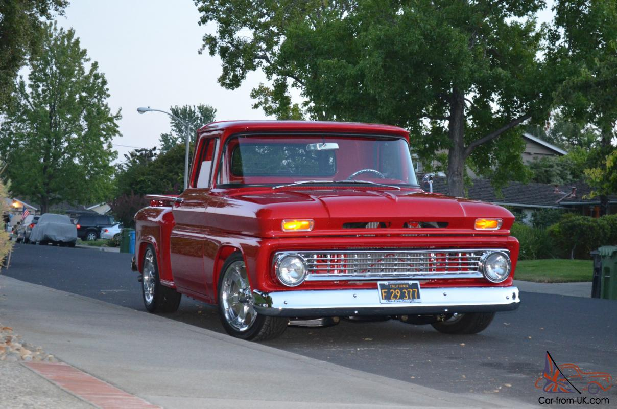 1963 Cheverolet C10 Pick Up Truck Short Bed Step Side