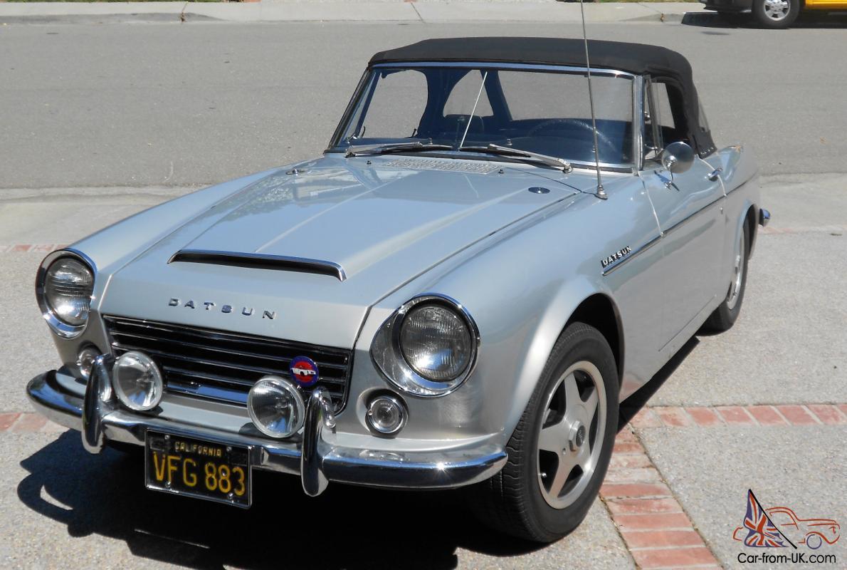 Datsun 1600 Roadster >> 1967 Datsun 1600 Roadster