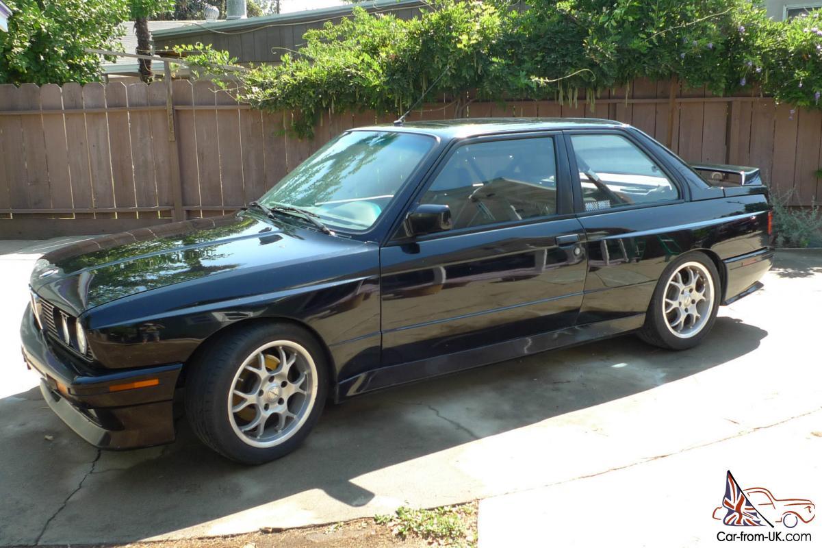 1988 BMW M3 E30 Track Car