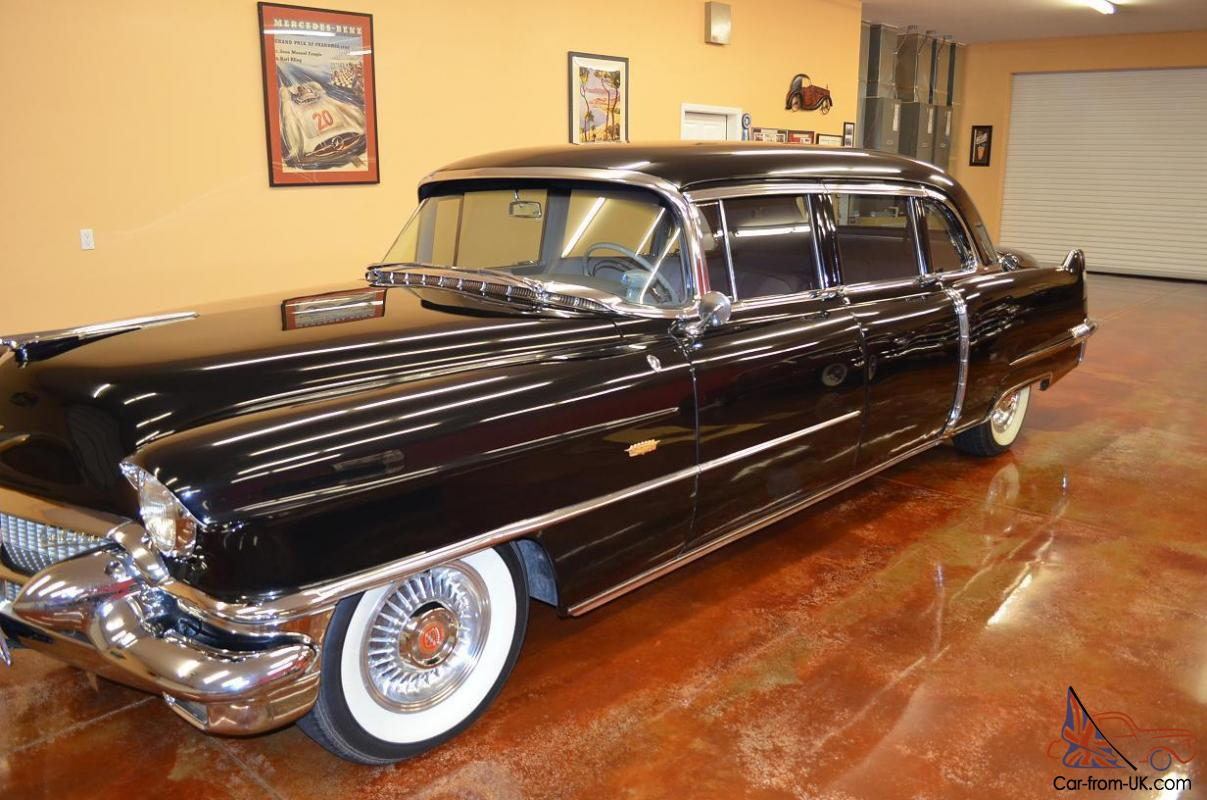 Cadillac Fleetwood For Sale >> 1956 Cadillac Fleetwood Series 75 Sedan Limousine