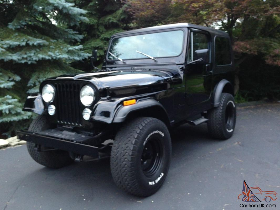 1986 Jeep Cj7 Completely Restored