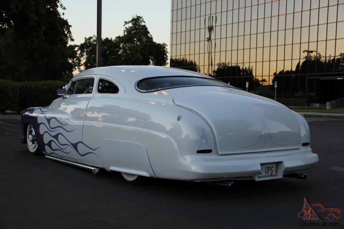 1949 Mercury Coupe Chopped Lead Sled