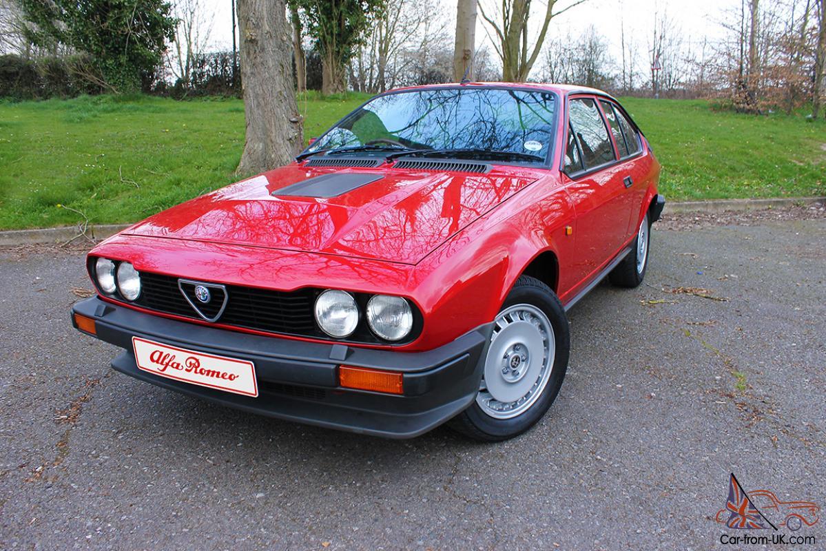 Alfa Romeo Alfetta Gtv Gtv6 2 5 For Sale