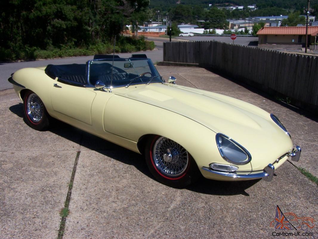 1967 Jaguar E-Type Series 1 Roadster 4.2 Liter