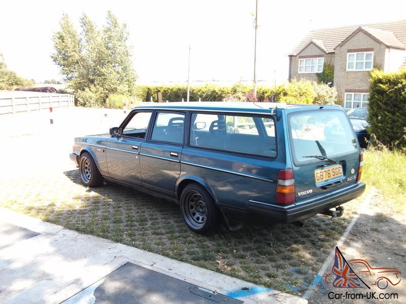 1990(G) Volvo 240 Estate Turbo LOTS of custom Parts - Drift Track RWD  Sleeper