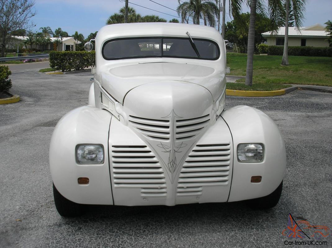 1940 Dodge Custom Pickup Off Frame Restored Chopped 440 Magnum Auto Ps Ac Duals