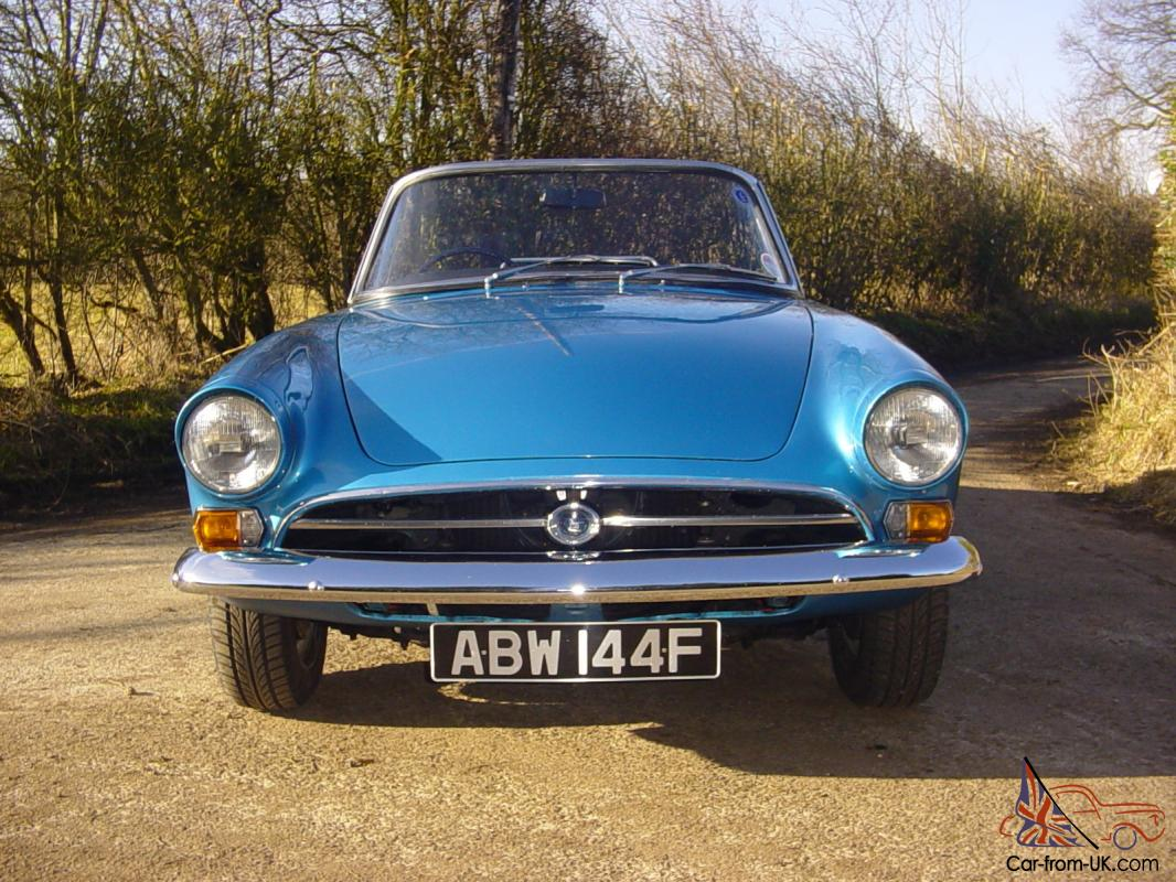 Sunbeam Alpine Series 5 Convertible Classic Sports Car With Overdrive