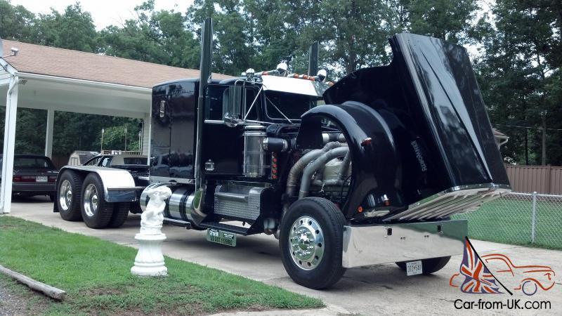 1977 Kenworth A Model 12v71 Detroit V12 Full Sleeper Show Truck 1000hp