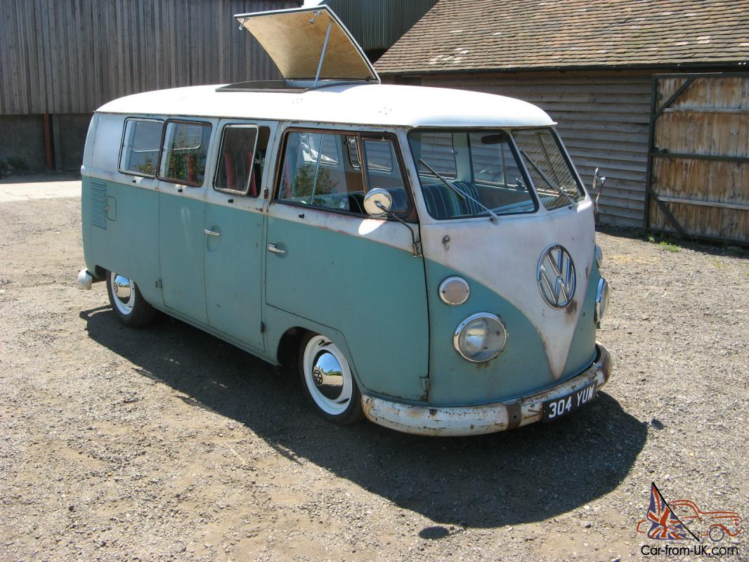 vw splitscreen 1962 westfalia so33 camper van