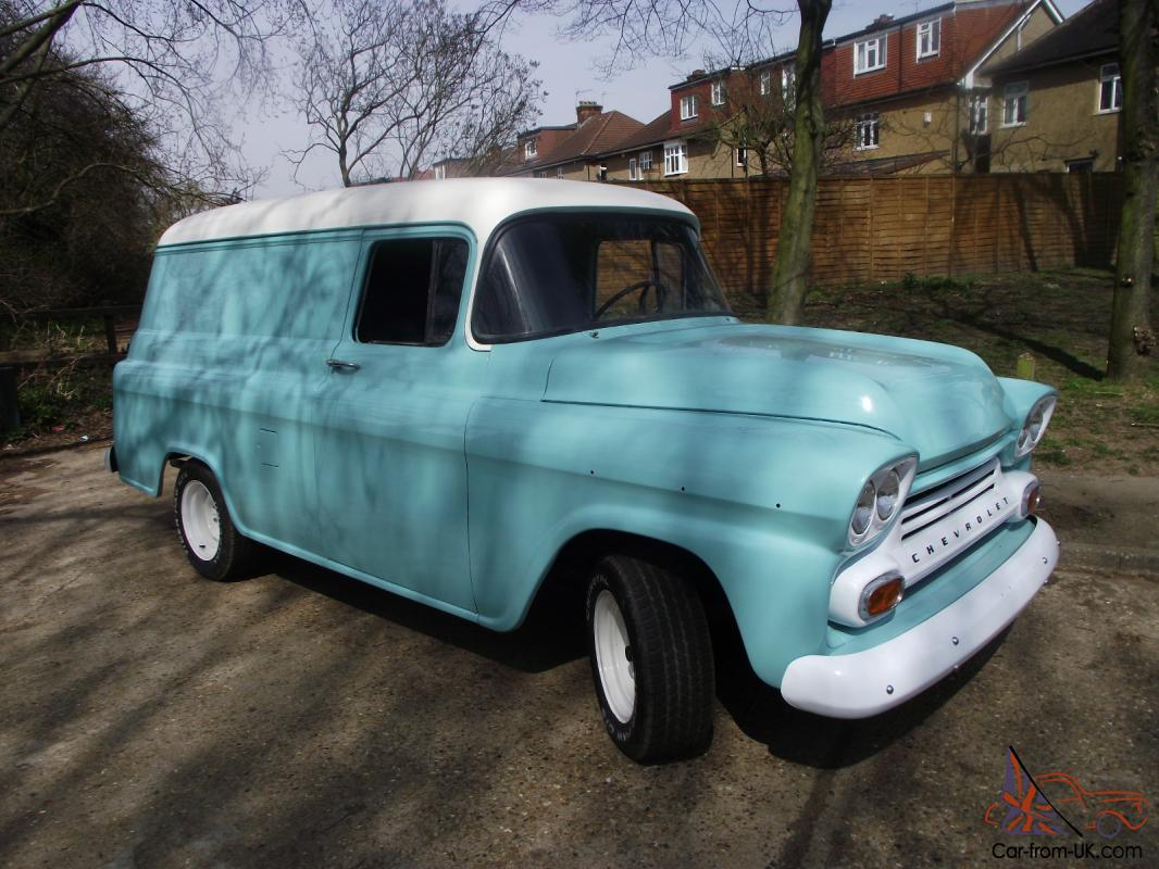 1959 Chevy Apache Panel Van