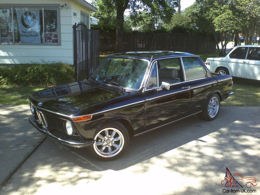 BMW 2002 For Sale >> 1974 Bmw 2002 Schwartz Black Electric Moonroof Ac All New Restomod