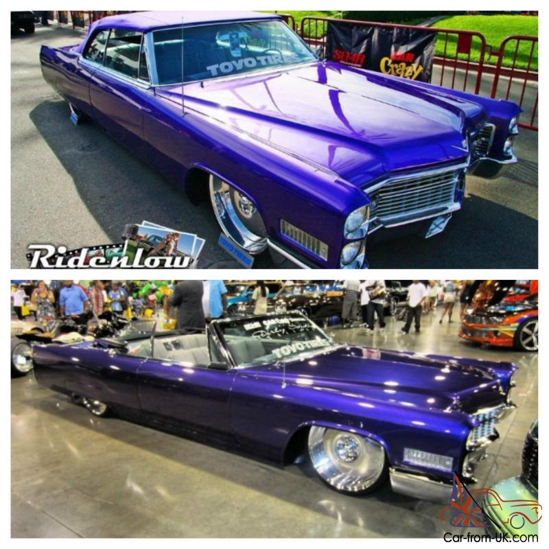 1966 Cadillac DeVille Convertible Custom Show, Tv Car With