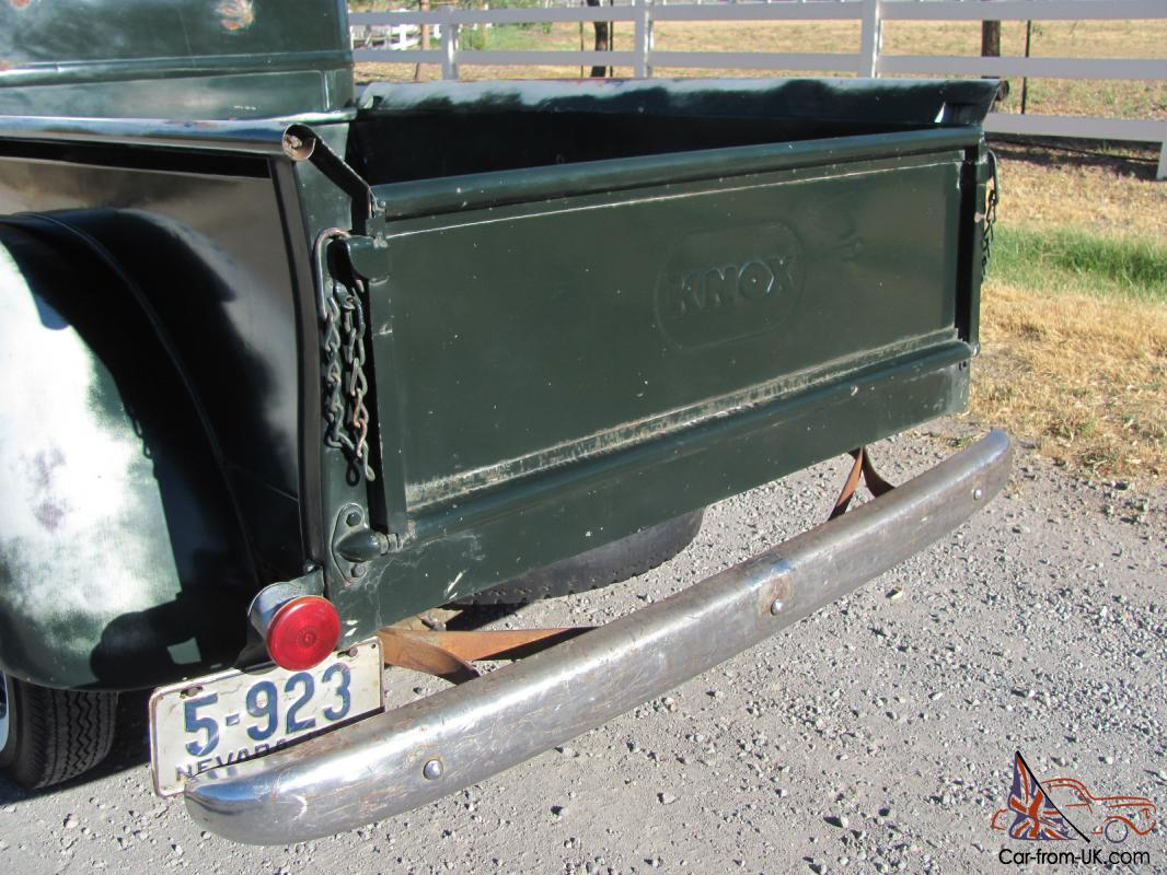 1949 International Harvestor All Original Barn Find KB-1 Half Ton KNOX Box  Truck