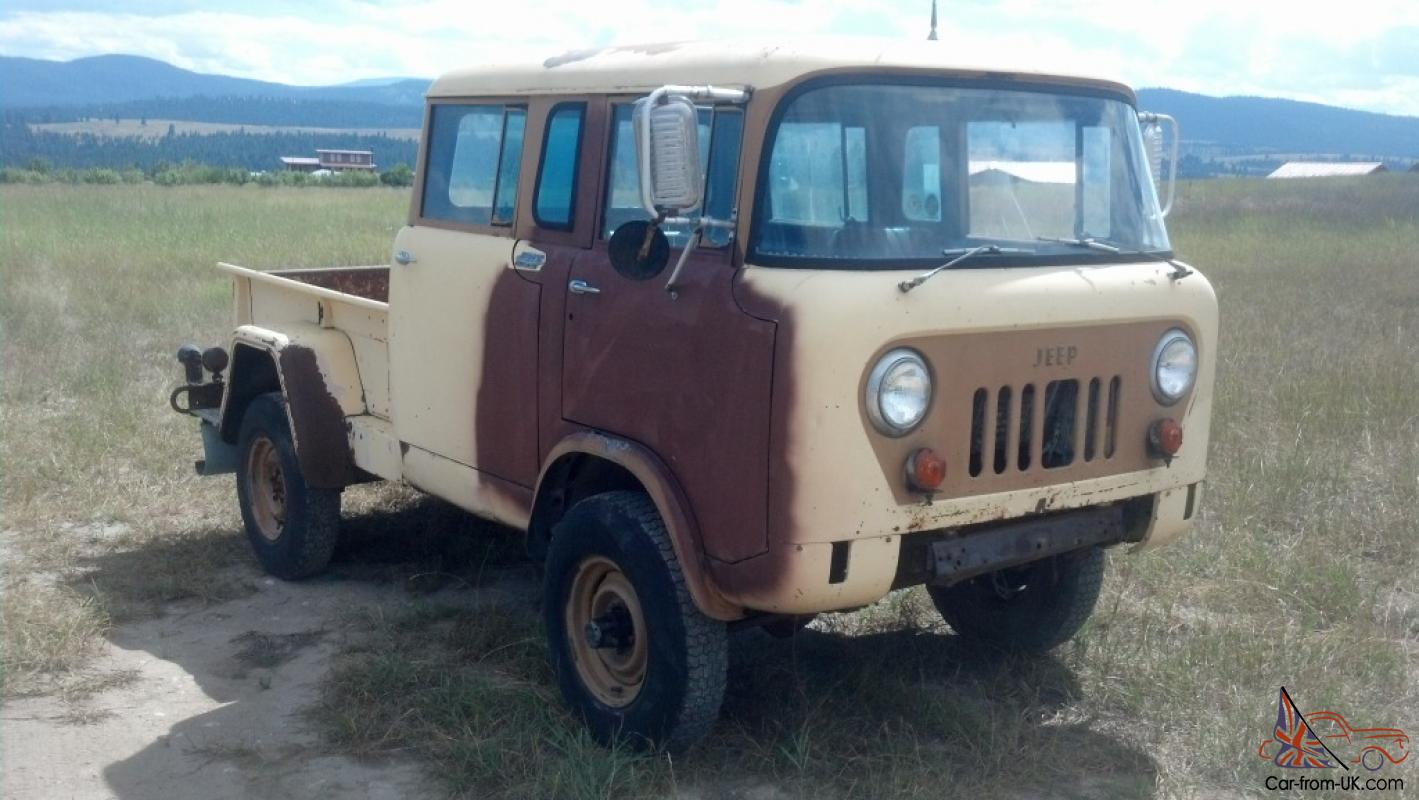 Jeep Fc For Sale >> 1964 Jeep Willys Military Fc 170 M 677 Forward Control Very Rare Runs Great