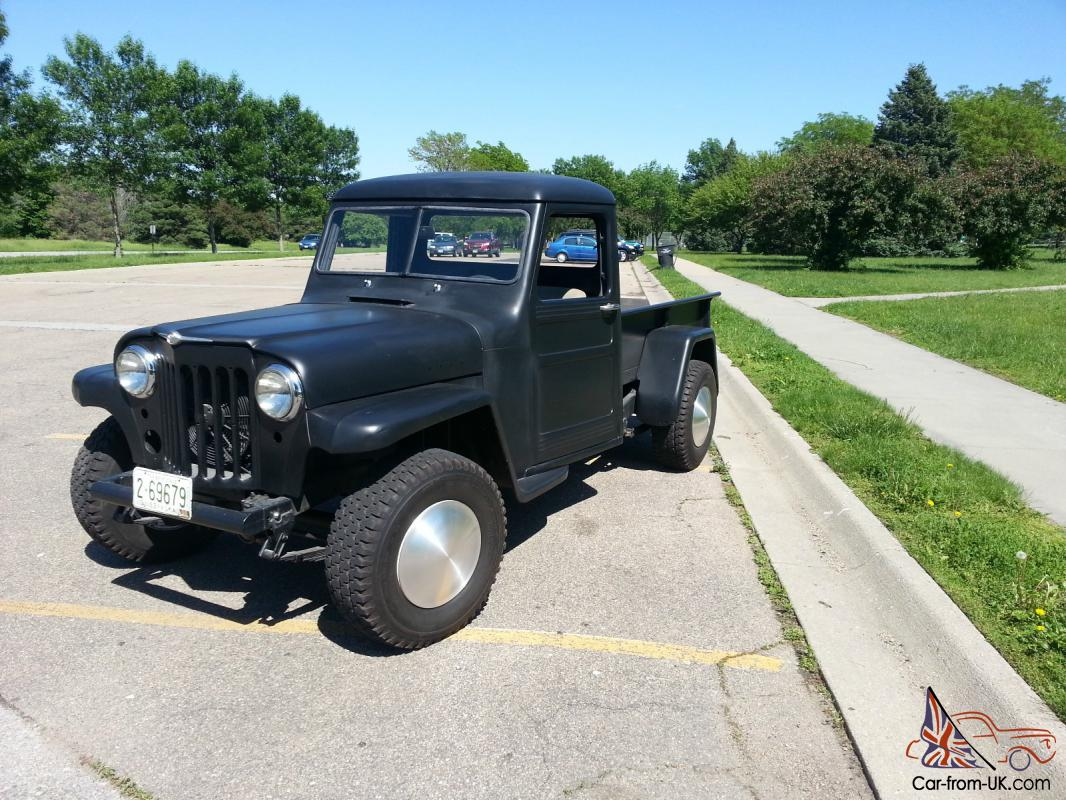 Willys Jeep Truck For Sale >> 1963 Willys Jeep Pickup Truck