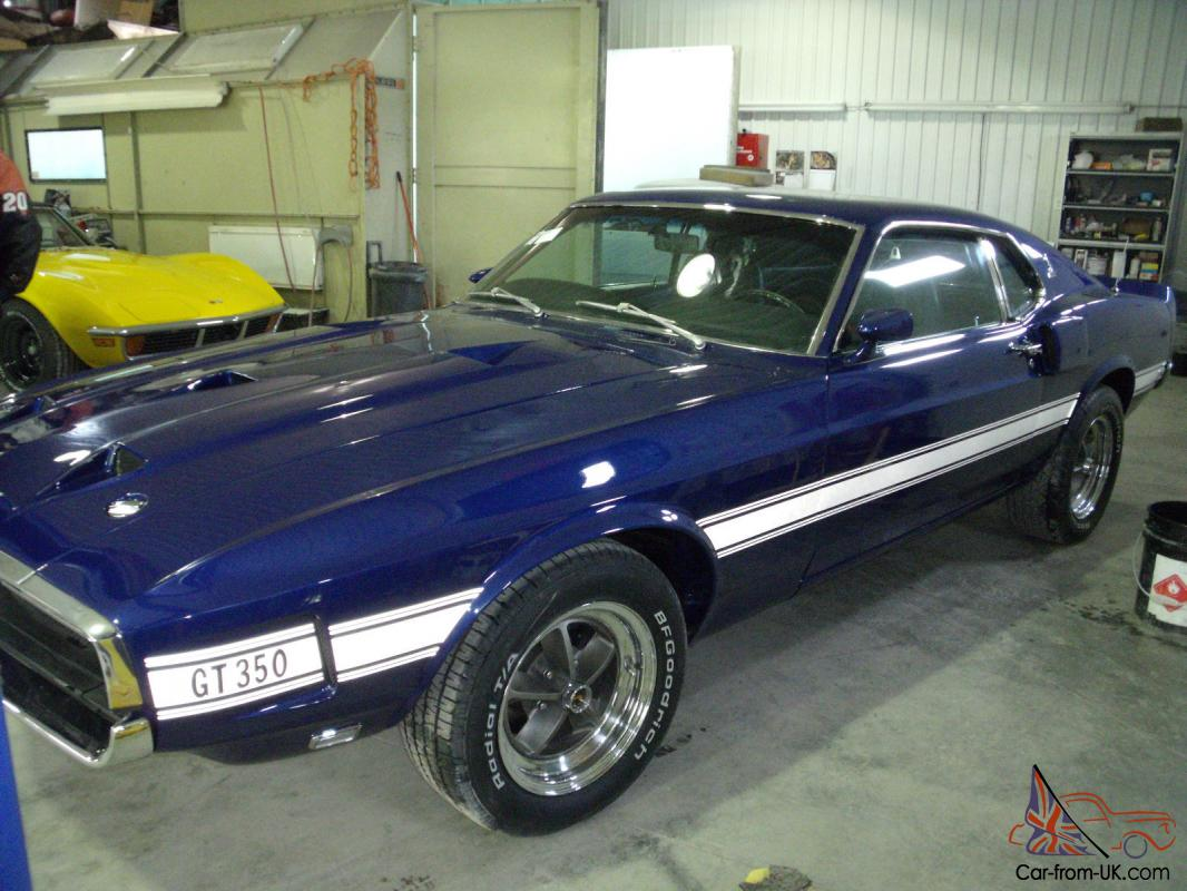 Ford mustang shelby gt 350 1969