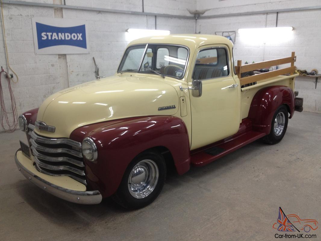 Pickup 1949 chevrolet pickup : 1949 CHEVROLET CHEVY 3100 HALF TON PICKUP CREAM/BURGUNDY SPLIT ...