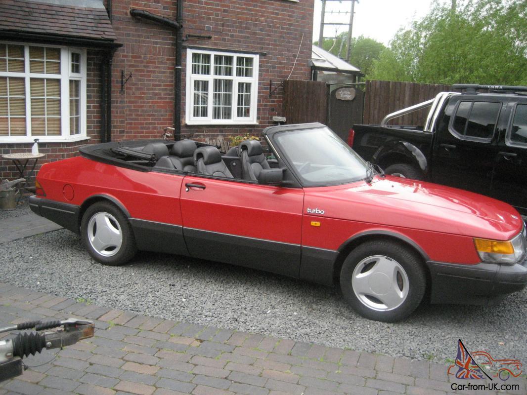 1990 Saab 900 Turbo 16v Convertible