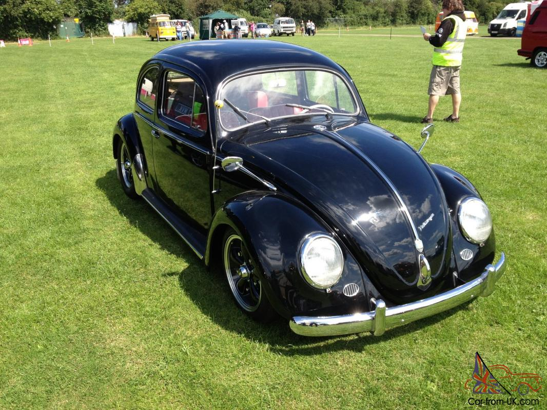 1957 oval beetle VW type 1 , beautiful restoration , narrowed beam ,  complete