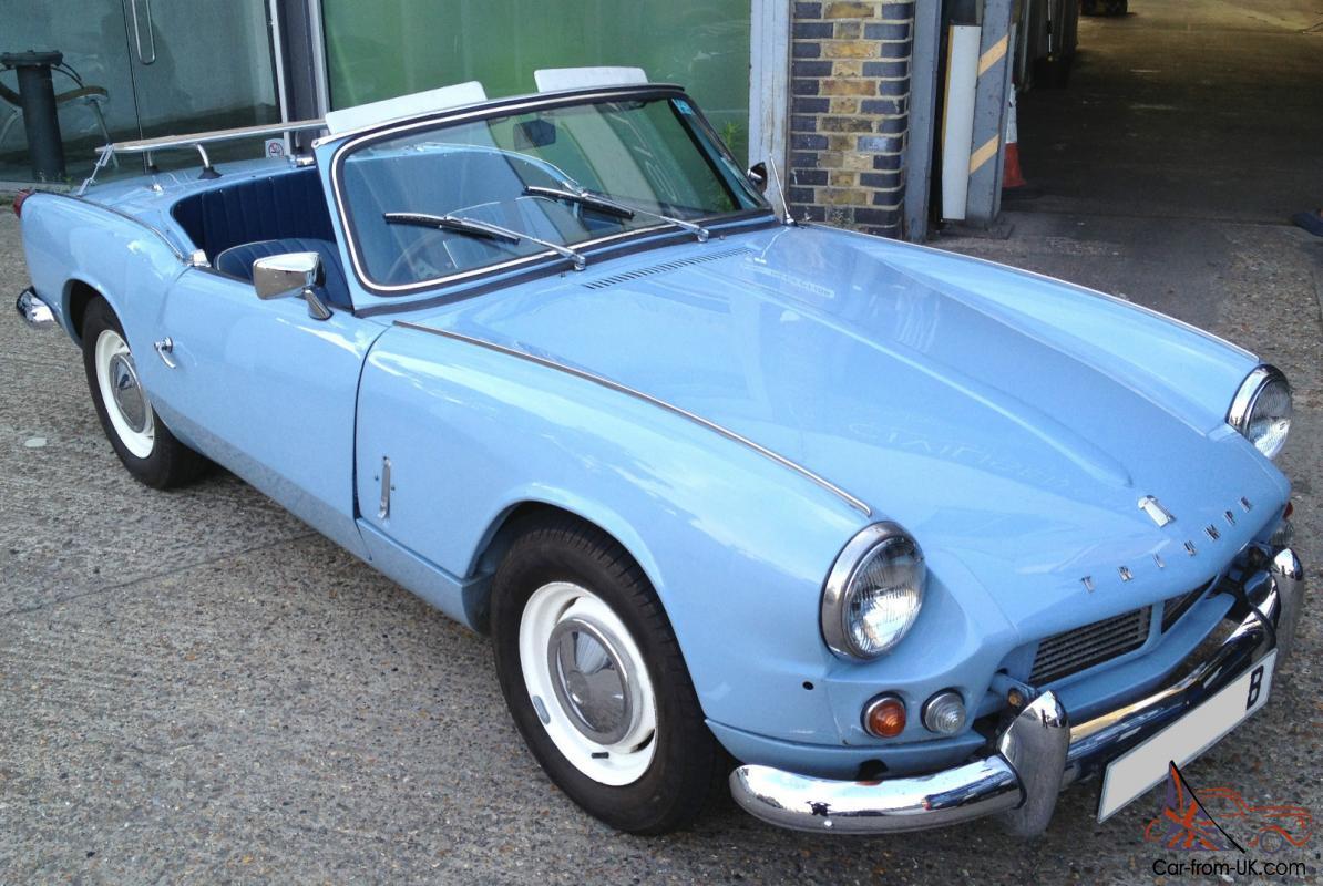 1964 Triumph Spitfire 4  Mk1  Beautiful Restored Car  12