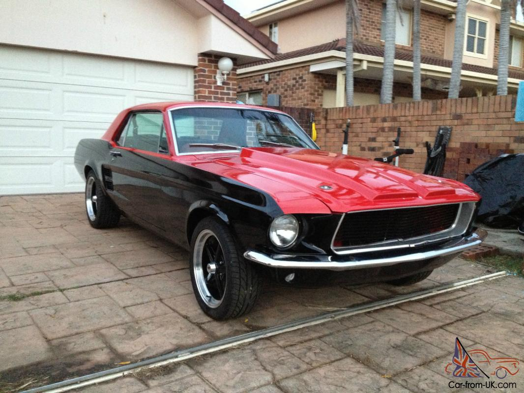 1967 Ford Mustang Coupe 302 V8 Restomod Fast Custom