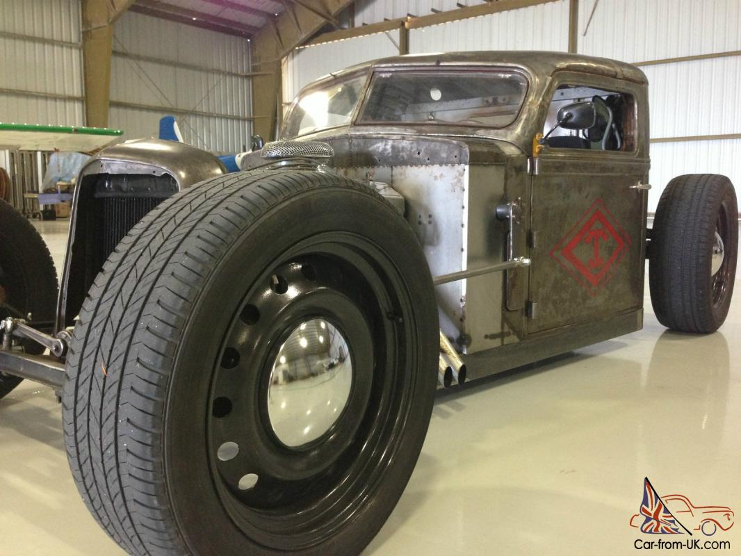 Diamond T Truck Bobber Rat Rod Custom Slammed Fast Hot Rod All Steel