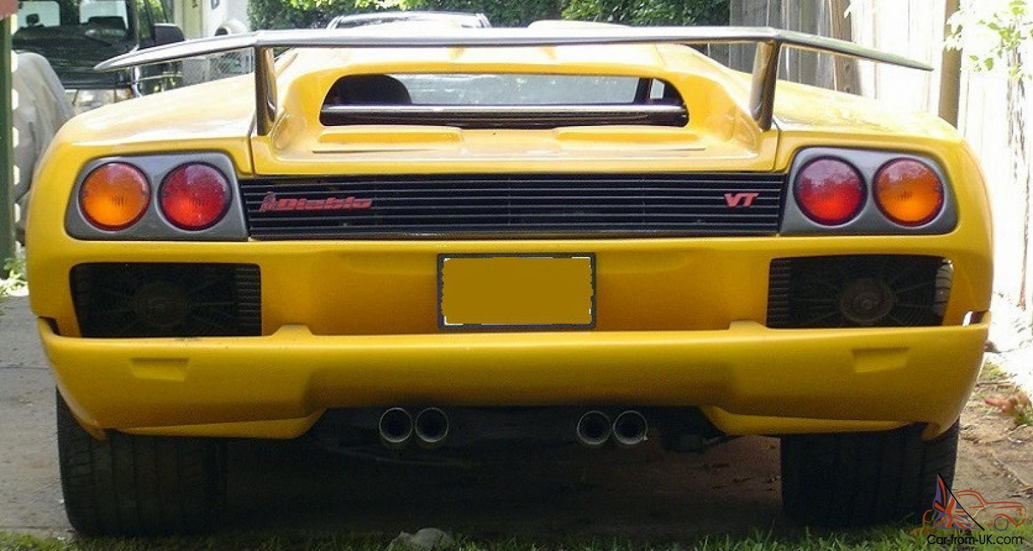 2001 Lamborghini Diablo Ifg Replica V8 5speed Lots Of Extras Watch Videos