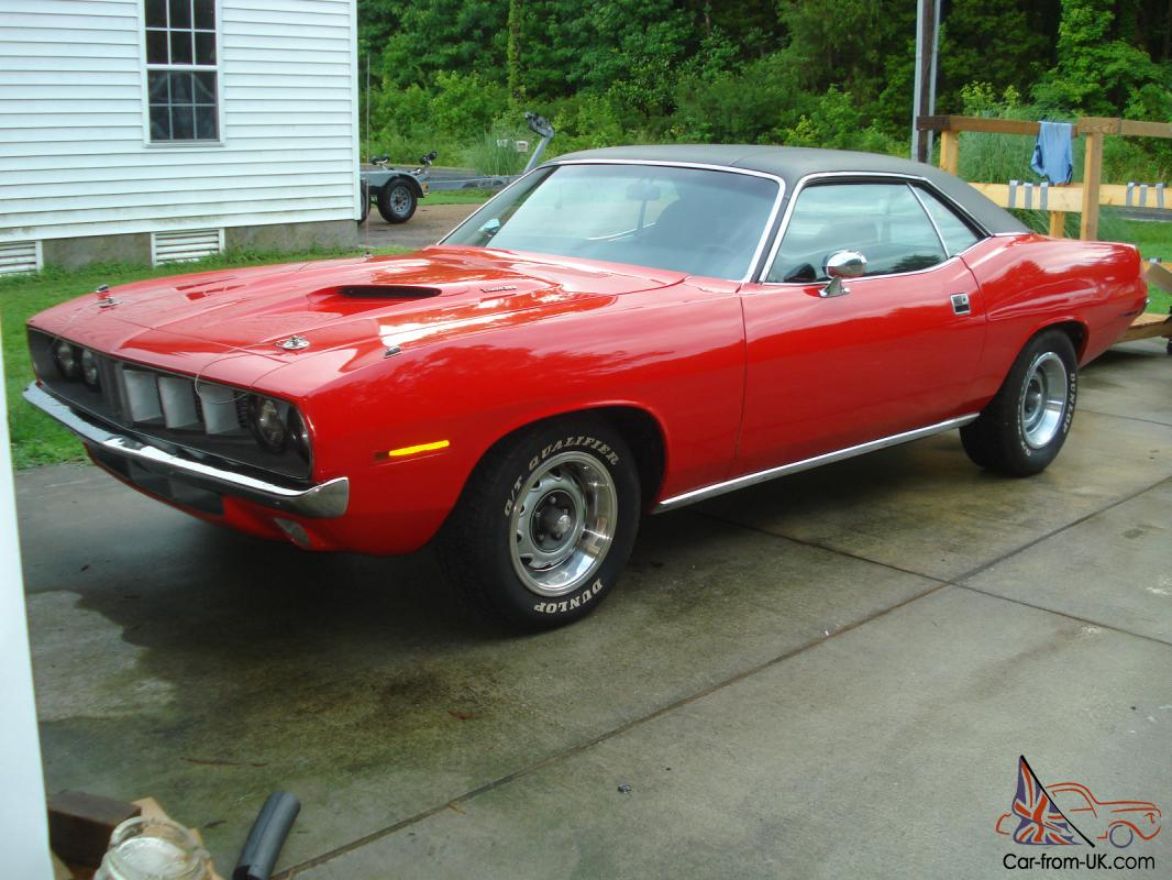 1971 Plymouth Barracuda Gran Coupe