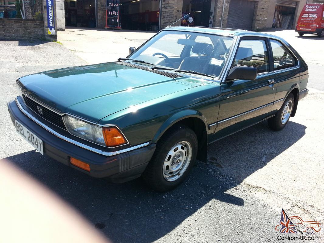 OUTSTANDING 1983 MK2 HONDA ACCORD EX AUTO GENUINE 14000 MILES