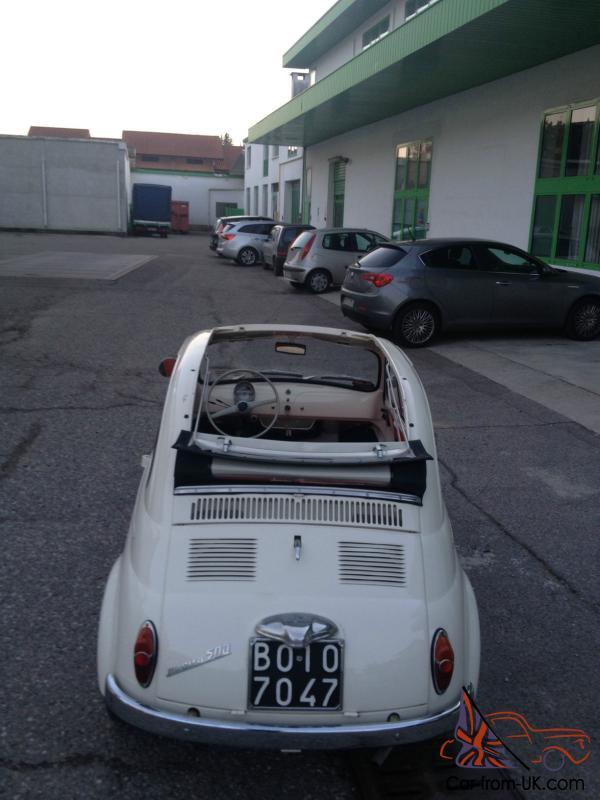 Beautiful Fiat 500 N 1959 Suicide Doors