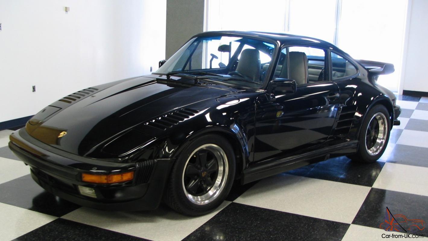 1987 Porsche 930 911 Turbo Factory Slantnose