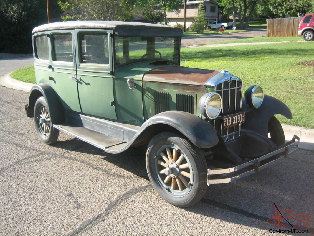 1928 Durant D 60 4 Door Sedan