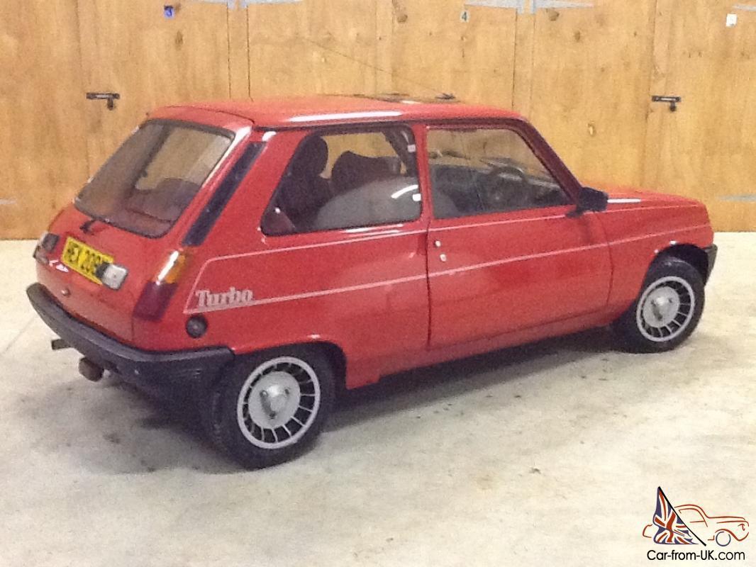 1983 Renault 5 Gordini Turbo Red