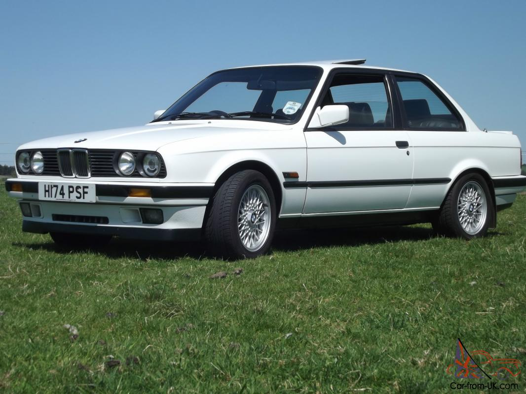 1990 Bmw 318is Alpine White Low Mileage 64k Mega Service History Leather Lsd Bbs