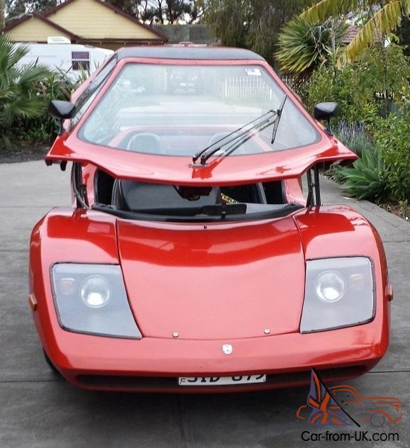 Purvis Eureka KIT CAR Looks Similar TO Ferrari Lamborghini