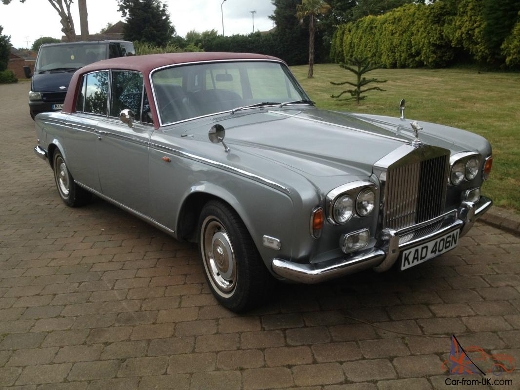 1975 Rolls Royce Silver Shadow Fared Arch  Nice Car 80k Miles