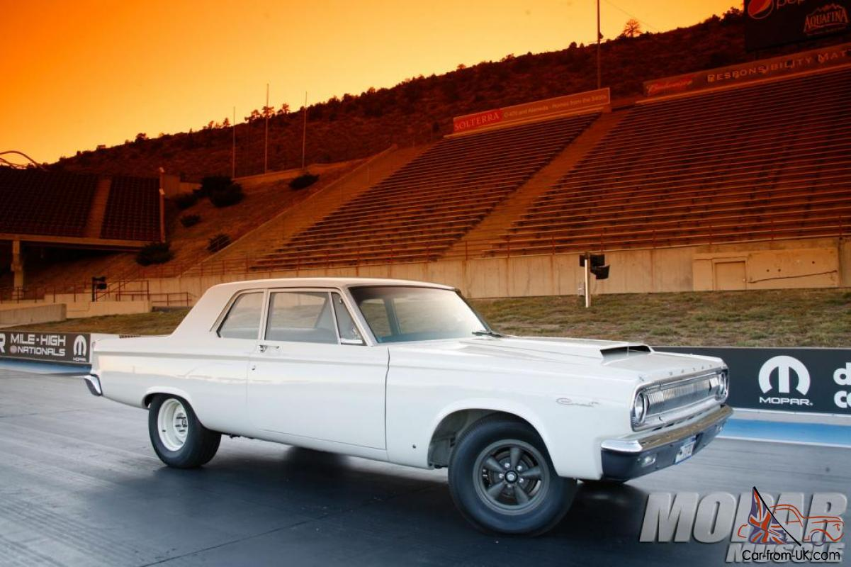 1965 Dodge Coronet 426 Ramcharger Max Wedge Superstock A990 Recreation 1964