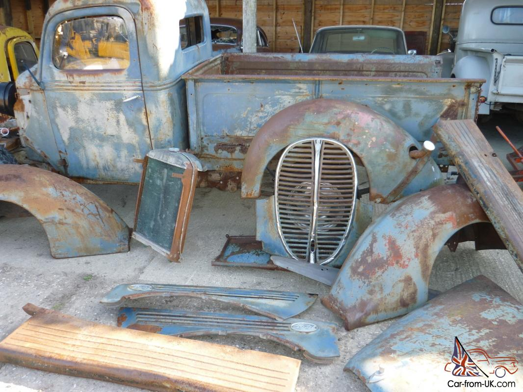 1938 Ford Cab And All Sheet Metal Build Your Own Ratrod V8 Hotrod