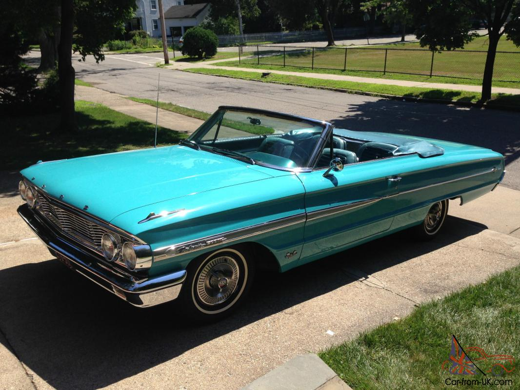 1964 Ford Galaxie 500 Xl Convertible 390 V8 Fully Restored