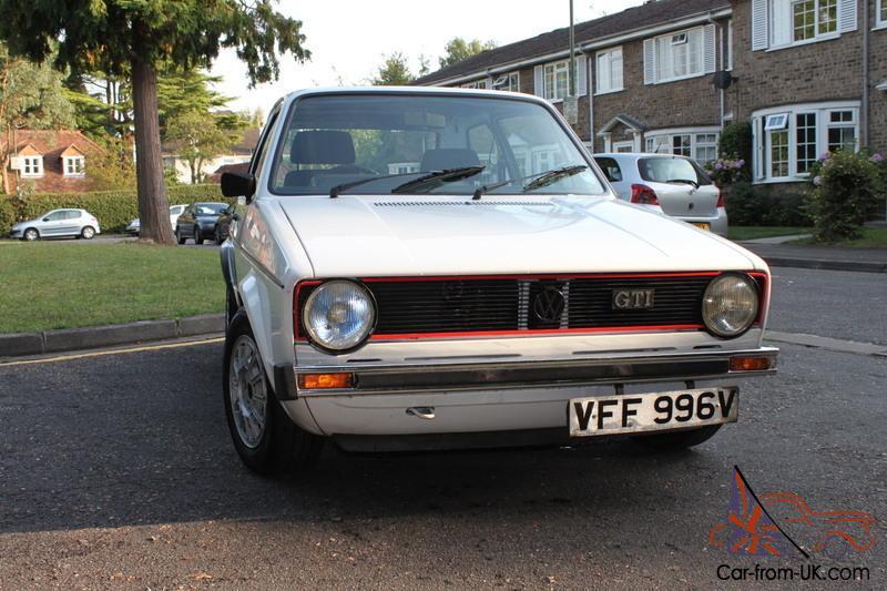 Vw Golf Mk1 Gti Series 1 Dellorto Kr 16v Not Swallowtail